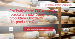 System ERP receptury odwrócone